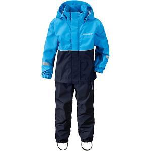 Комплект Didriksons Rusk: куртка и брюки. Цвет: голубой