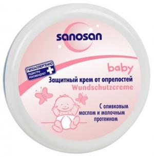 Крем  Защитный от опрелостей, 150 мл Sanosan