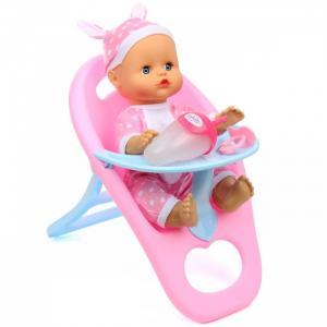 Кукла-Пупсик в стульчике для кормления озвучен 30 см 72367 Lisa Jane