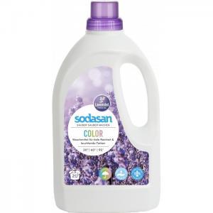 Жидкое средство для стирки изделий из цветных тканей Лаванда 1.5 л Sodasan
