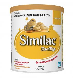 Молочная смесь  НеоШур Детская 0-12 месяцев, 370 г Similac