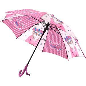 Зонт  Kids 2001 R, фиолетово-серый Kite. Цвет: grau/lila