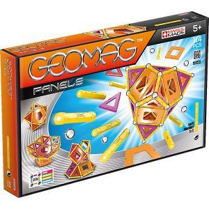 Магнитный конструктор  Panels, 114 деталей Geomag. Цвет: оранжевый